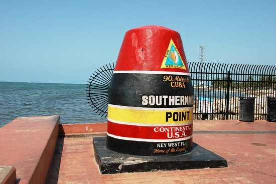 Southernmost Point Monument at Key West