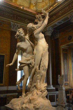 Borghese Gallery: Apolo y Dafne - Villa Borghese
