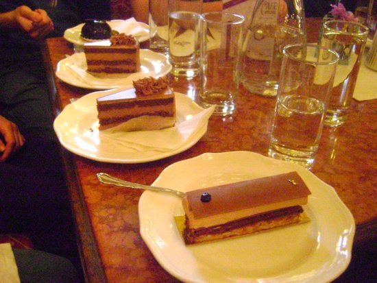 Cafe Central Wien: My Table's Cake Choices