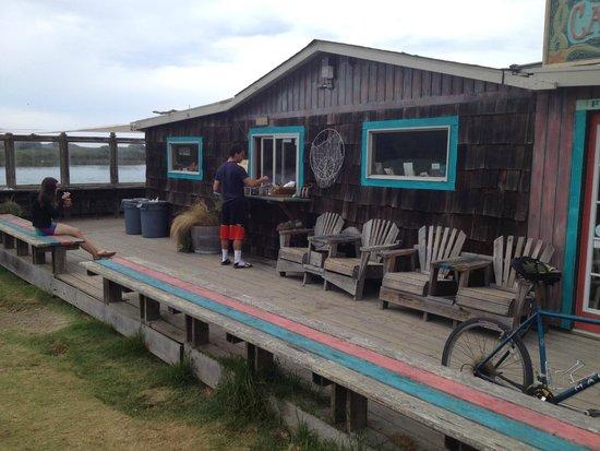 Cafe Aquatica : the cafe