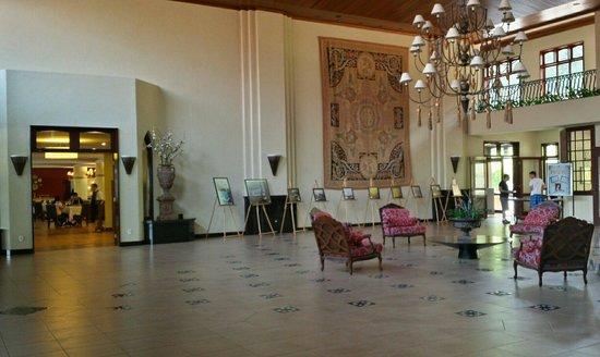 Villa di Mantova Resort Hotel: Lobby do hotel. É a primeira coisa que se vê ao entrar.