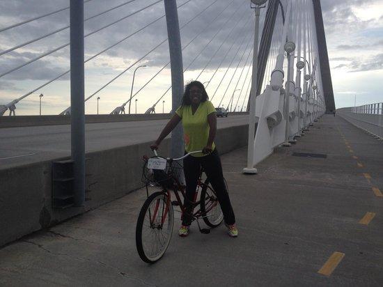 French Quarter Inn: Save the world, ride a bike