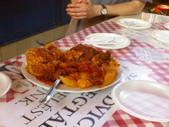 Culinary Hungary Home Cooking Class and Market Tour: more food for tasting