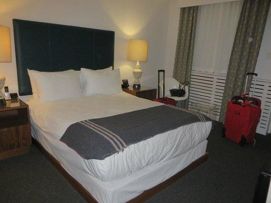 The Burrard: La habitación.
