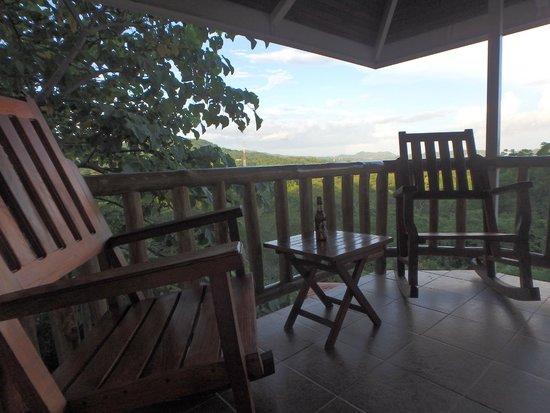 Lodge Las Ranas: Balcony