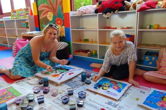Centara Grand Beach Resort Phuket: Batik painting