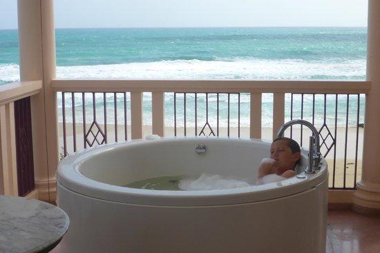 Centara Grand Beach Resort Phuket: View from the spa (room 941)
