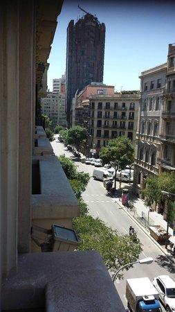 Hotel Roger De Lluria Barcelona: Vistas desde la habitación
