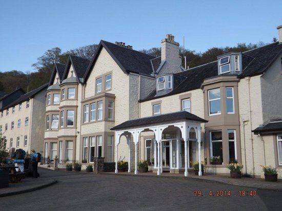 Inversnaid Hotel: Front of Hotel