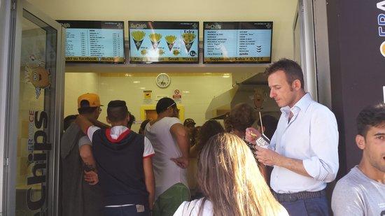 Rechips: fila x il cono chips
