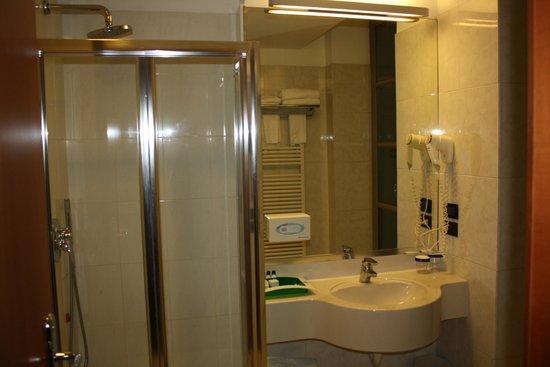 Holiday Inn Turin City Center : View of the bathroom
