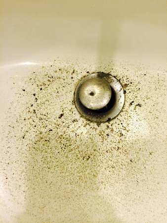 BlueBay Grand Esmeralda: This is the SEWAGE that was in my bathroom sink every day