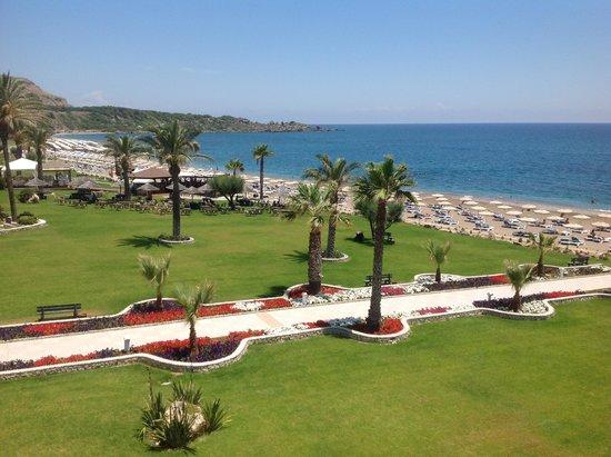 Rodos Palladium : beach view