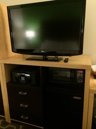 Hampton Inn & Suites New Orleans Downtown (French Quarter Area): very big TV !
