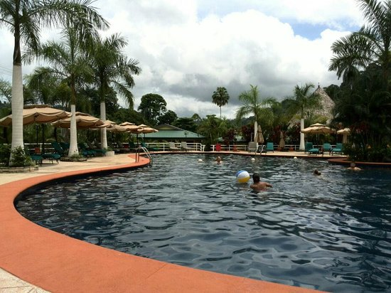 Hotel Casa Roland Golfito: Pool area