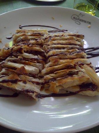 Altin Tava Gozleme Evi: Choc pancake