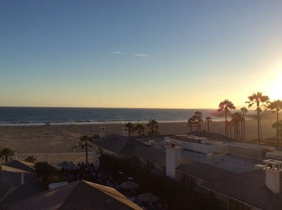 Shutters on the Beach: Sunset view from our room