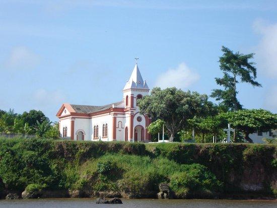 Gurupa, PA: Igreja Católica no centro da cidade