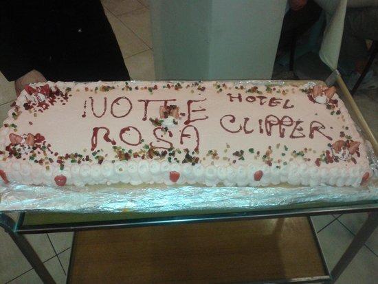 Hotel Clipper : Una torta acquisita oltre che bella!!!