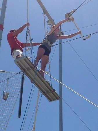 Club Med Turkoise, Turks & Caicos: Trapeze