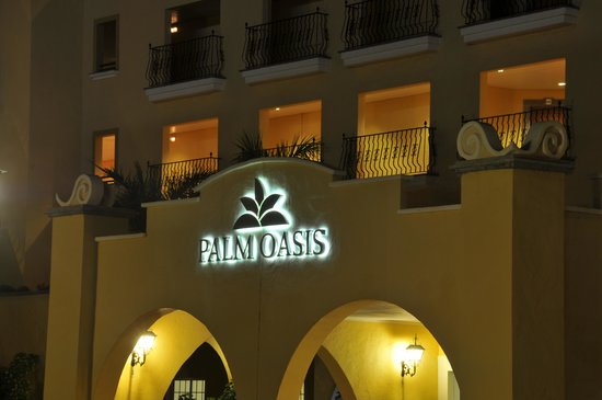Palm Oasis Maspalomas: palm oasis noche