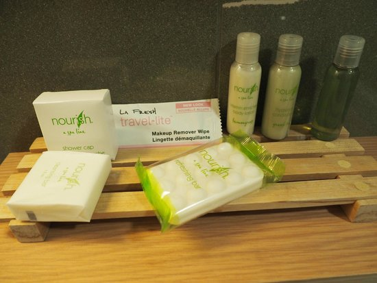 Mount Robson Inn : Bathroom Toiletries - Queen Room
