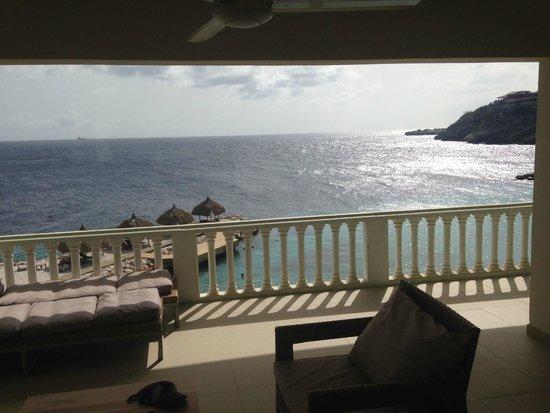 Blue Bay Curacao : Vista do terraço do prédio Ocean