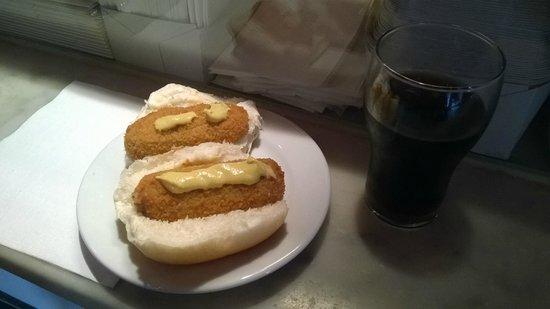 Van Dobben : panino crocchetta con senape