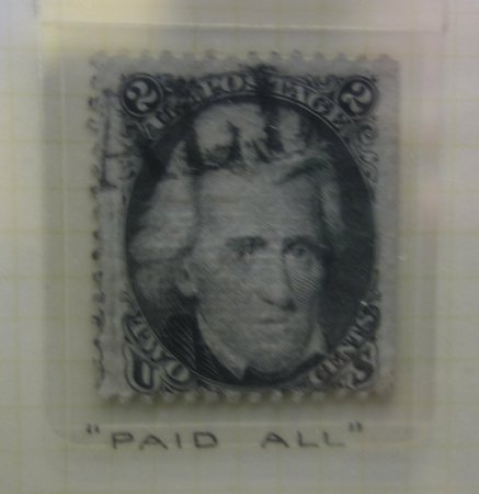 National Postal Museum : The rarest United States Stamp