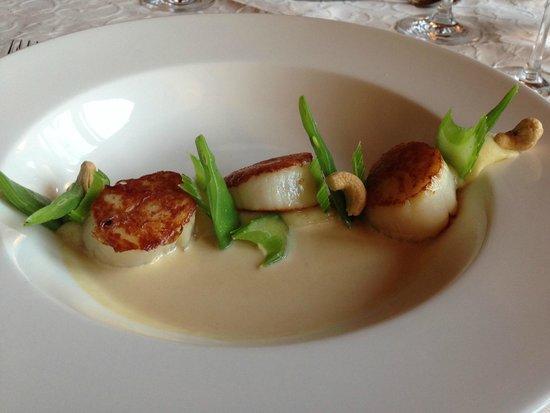 Restaurant Caprice: Scallops