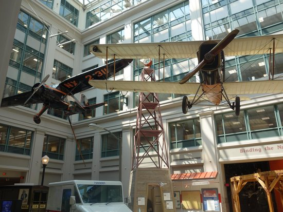 National Postal Museum : The atrium area of the museum