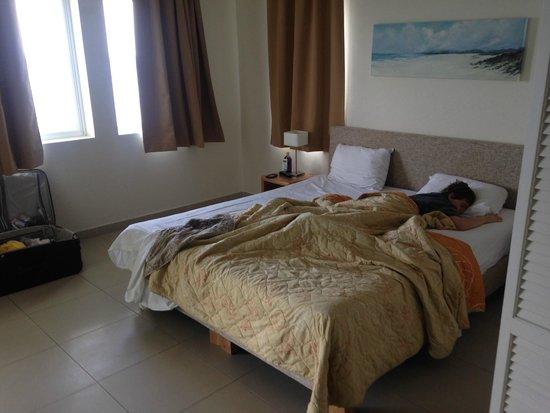 Blue Bay Curacao: Quarto principal tudo suite