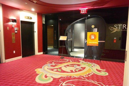 Kimpton Hotel Monaco Philadelphia: Выход на 11 этаж