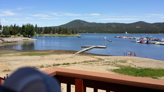 Big Bear Frontier Cabins : Awesome view