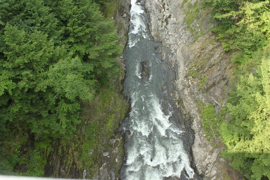Quechee Gorge from the bridge