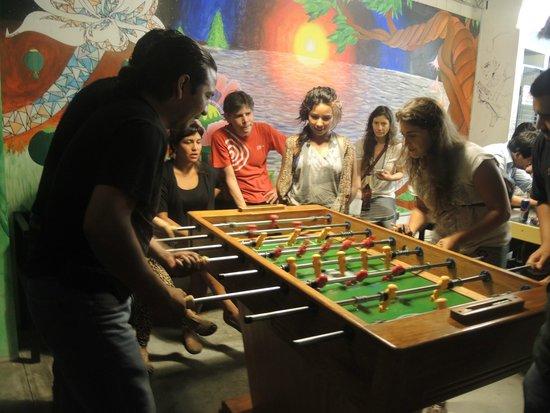 Puriwasi Hostel: Campeonato de Fulbito...
