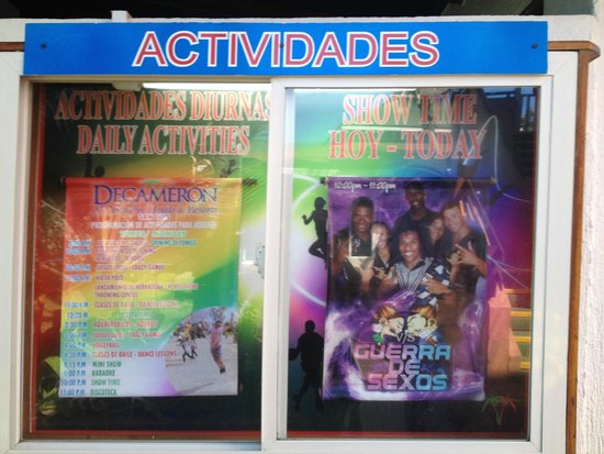 Decameron San Luis: Atividades