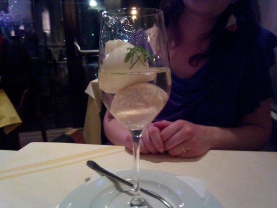 Plachutta: Sorbetto alcolico