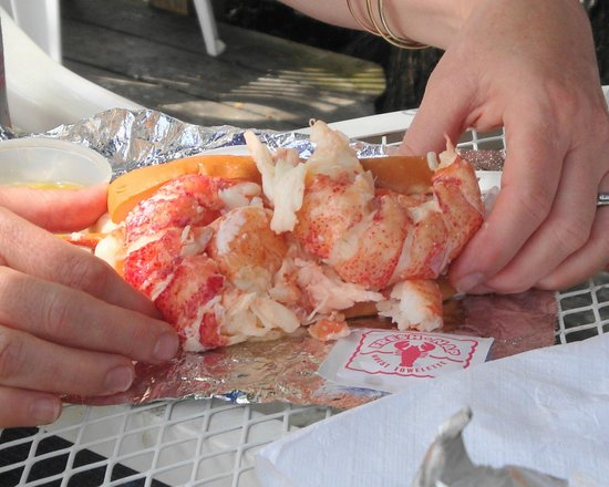 Red's Eats : now that's a proper lobster roll