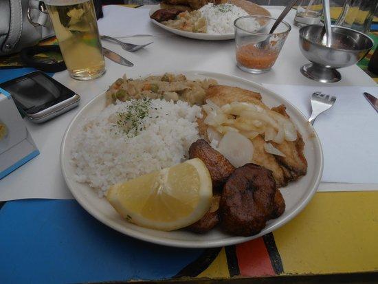 Soleil D'Afrique: fish