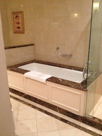 Treasury Hotel & Casino : Love the bath