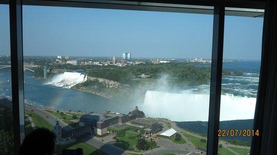 Niagara Falls Marriott Fallsview Hotel & Spa: desde la habitacion piso 20