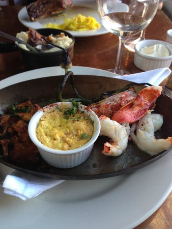 Fore Street : Lobster, Corn, Exotic Mushrooms and Asparagus