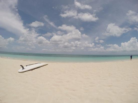Grace Bay: Beautiful and quiet beach.