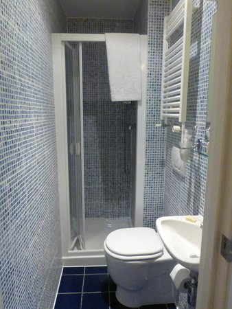 Studios2Let Serviced Apartments - Cartwright Gardens: Bathroom- a bit small, but worked!