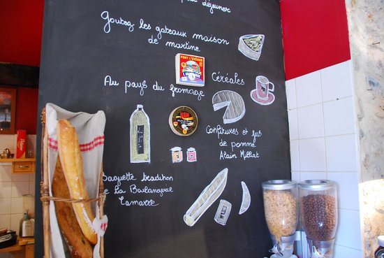 La Cour Sainte-Catherine : Breakfast dinning area