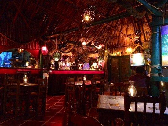 La Cabana del Pescador : The restaurant