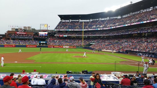 Turner Field: View from 3rd Base Line