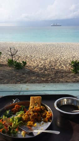 Sivananda Ashram Yoga Retreat: Dinner with a view