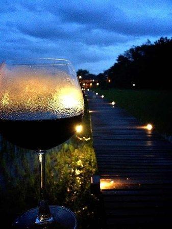Red Wine @Vieng Tara Villa
